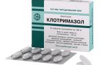 Клотримазол таблетки от молочницы курс лечения