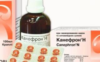Лечение молочницы у мужчин канефроном