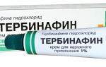 Тербинафин против молочницы у мужчин