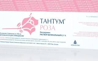 Спринцевание при молочнице тантум роза