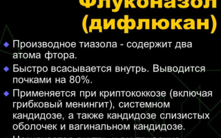 Русский аналог дифлюкана от молочницы